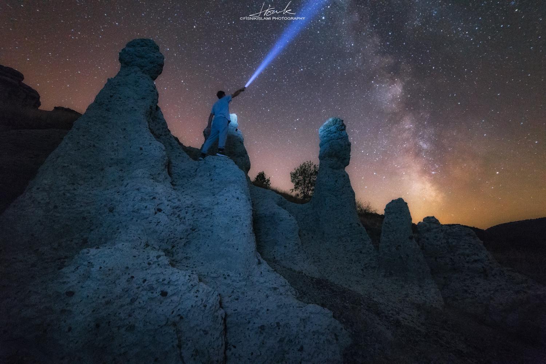 Milky Way by Fisnik Islami