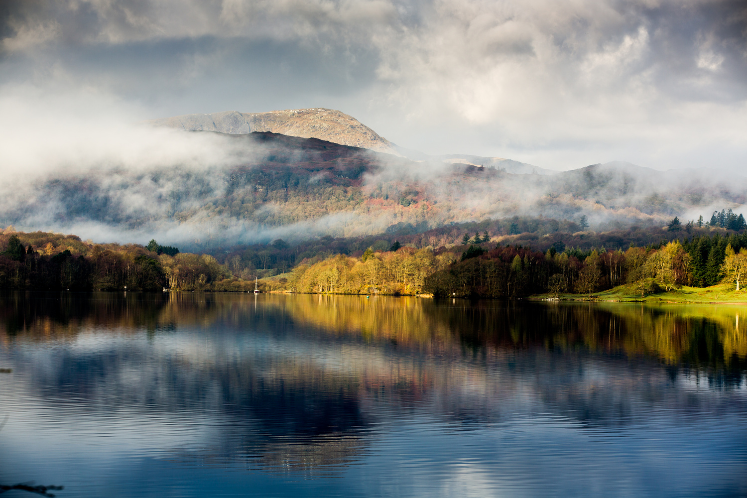 Misty Reflection  by Stefan Ashby