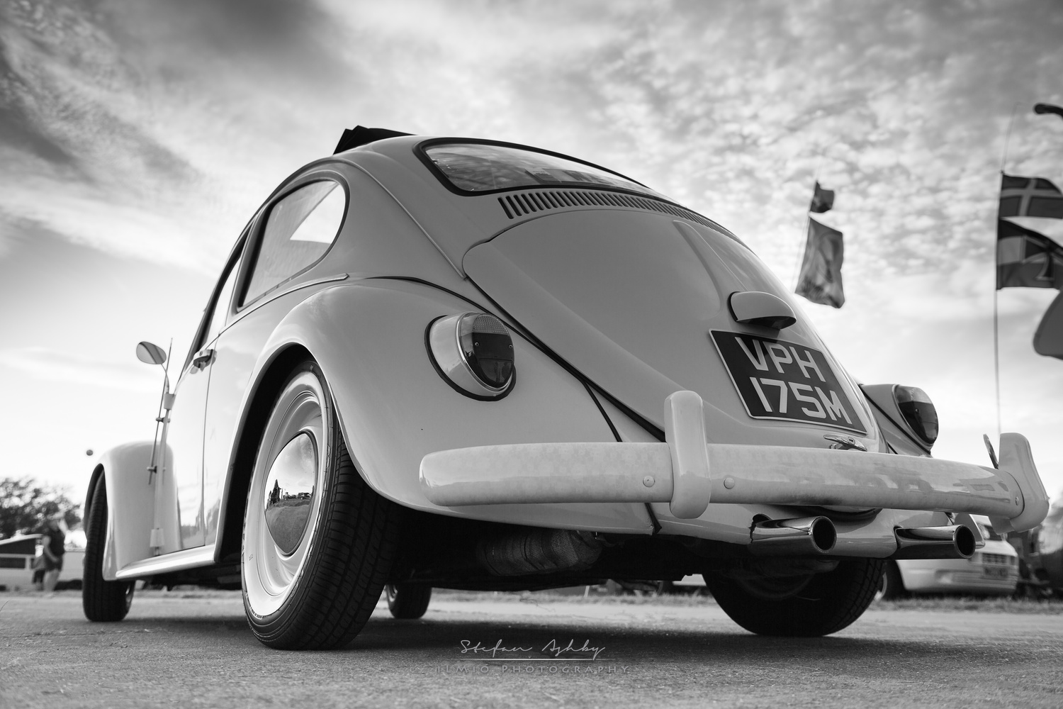 B&W VW Beatle by Stefan Ashby