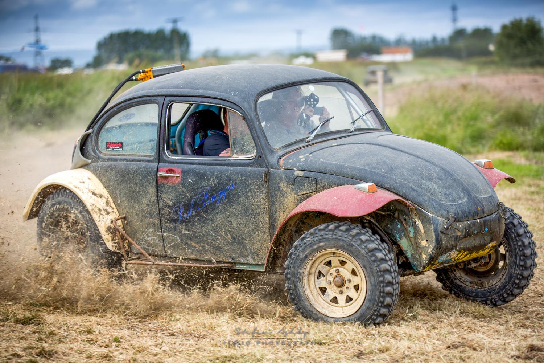 VW Beatle Banger racing by Stefan Ashby