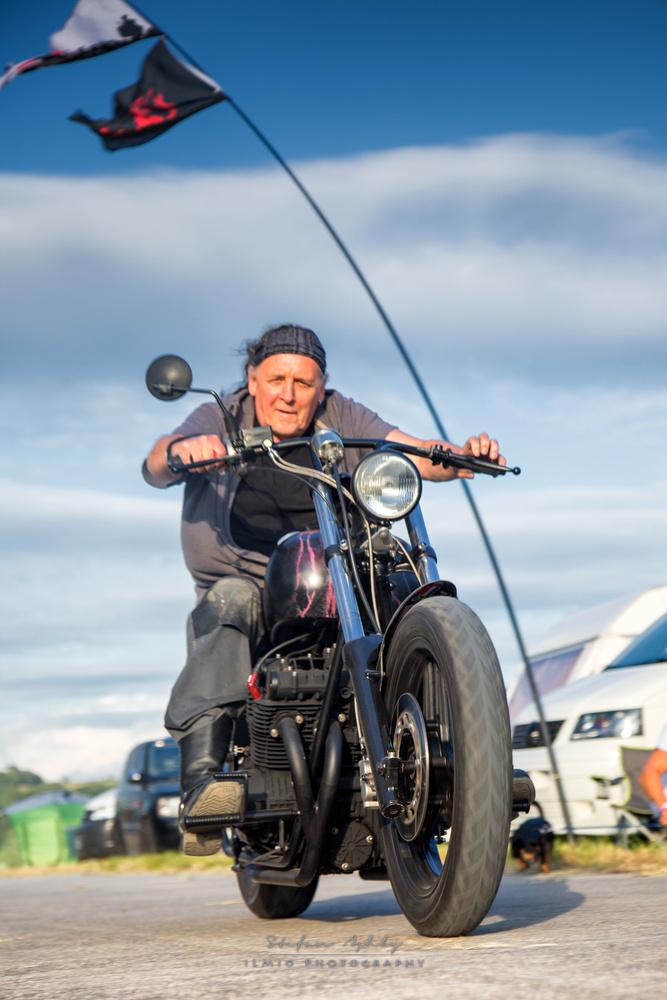 Hairy Biker (nearly) by Stefan Ashby
