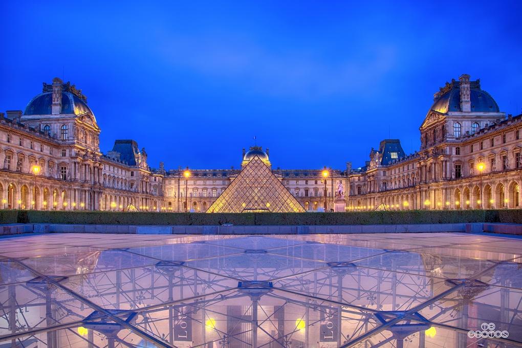 Louvre low by thomas brenac