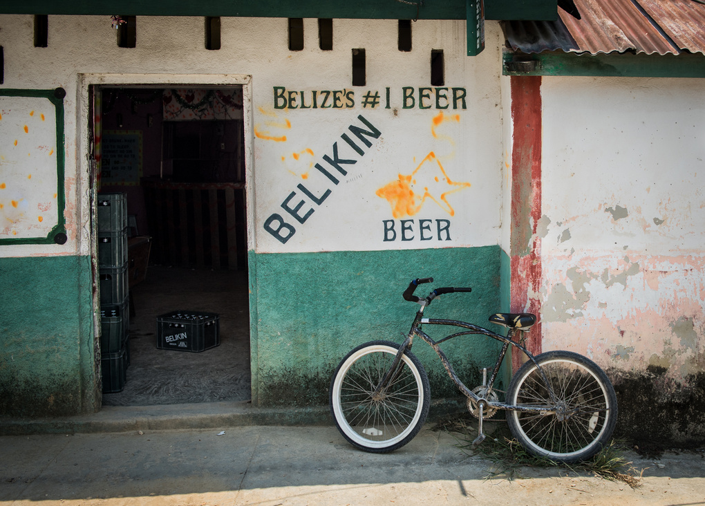 Beer and Bike by Don Zevchek