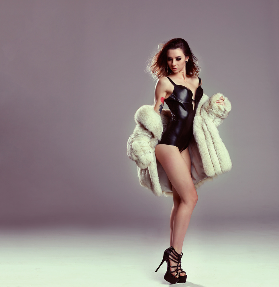 Latex and Fur by Renee' West