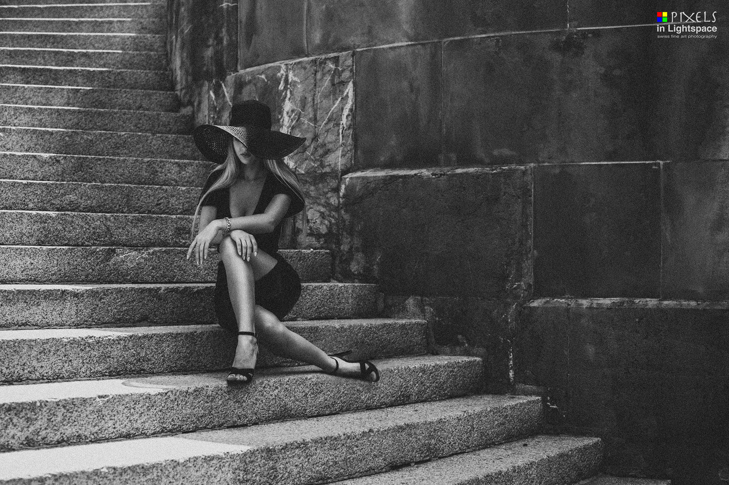 Sit down, but in the shadow by Mladen Dakic
