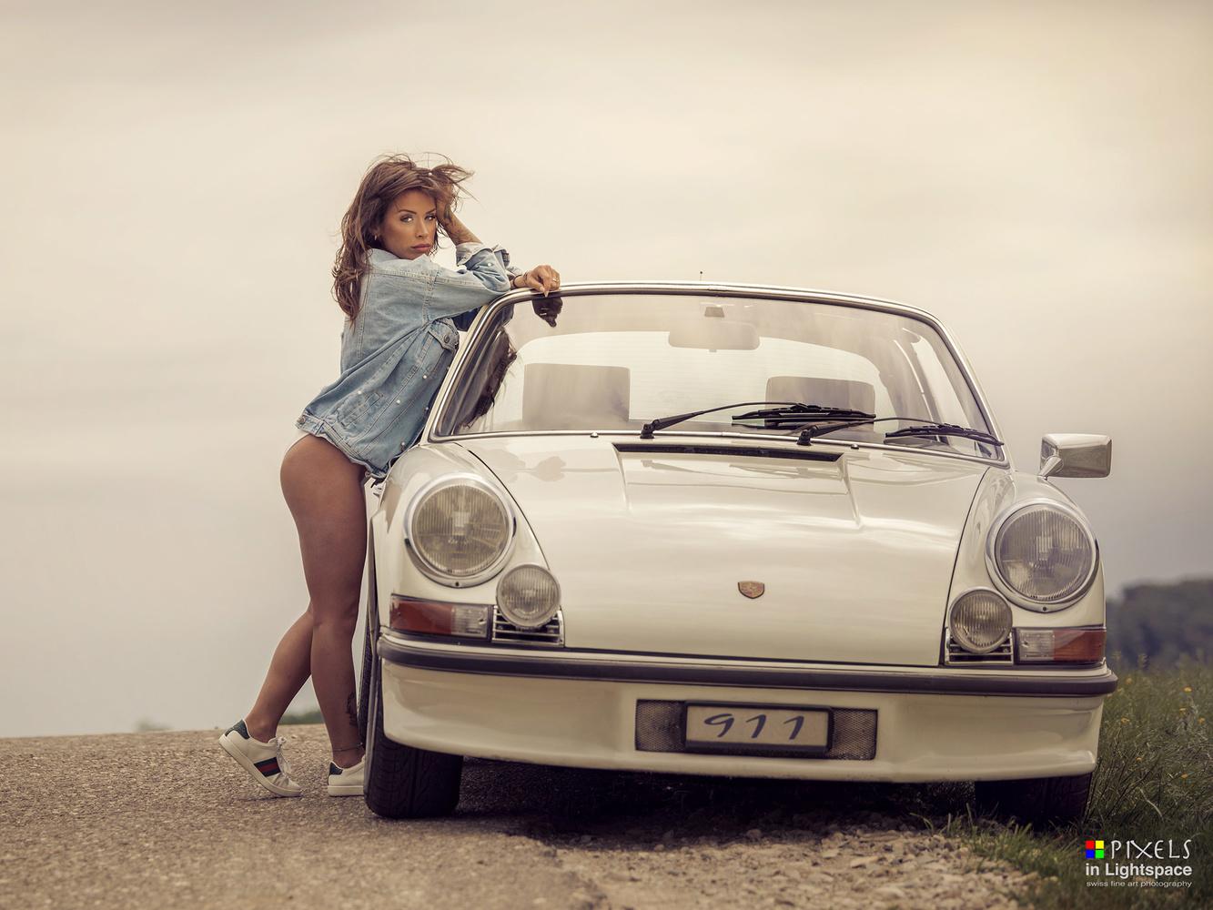Hot time traveler by Mladen Dakic