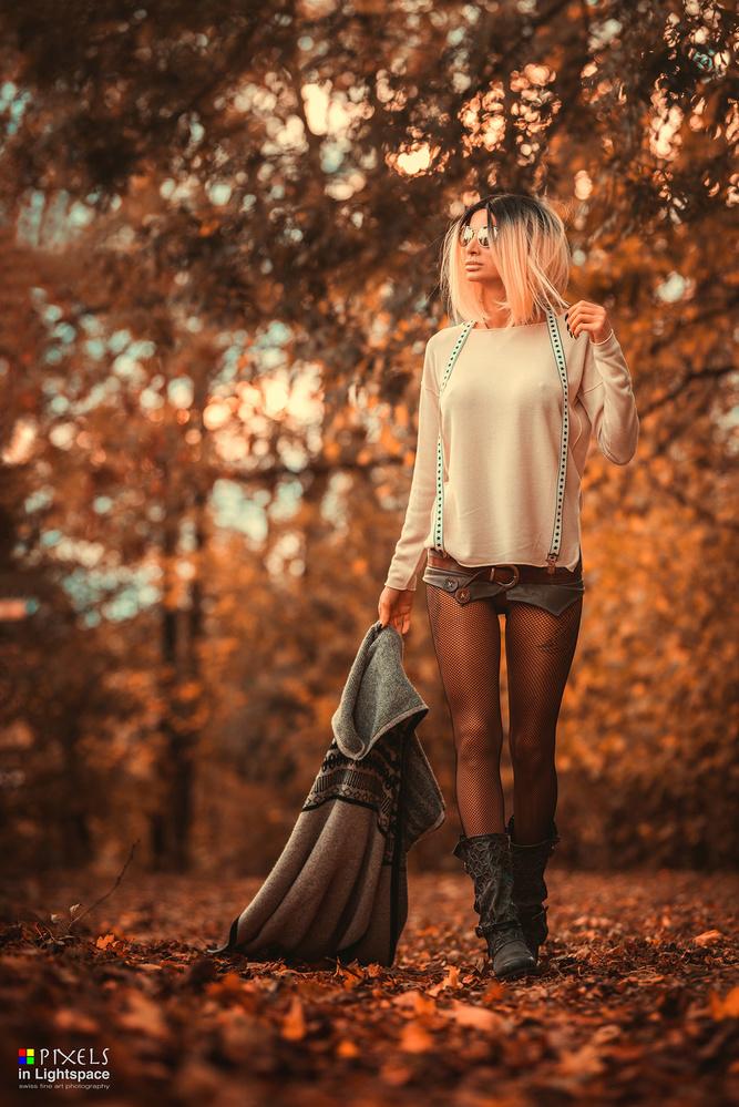 Autumn walk by Mladen Dakic
