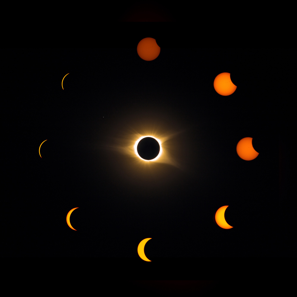 Eclipse Composite by Douglas Davies