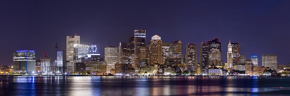 Boston Skyline by Michael DeStefano