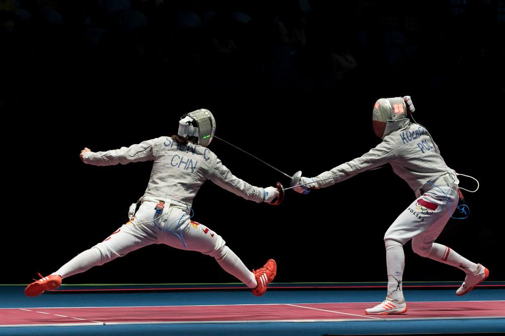 Women's Fencing Sabre - Rio 2016 Olympics by Michael DeStefano