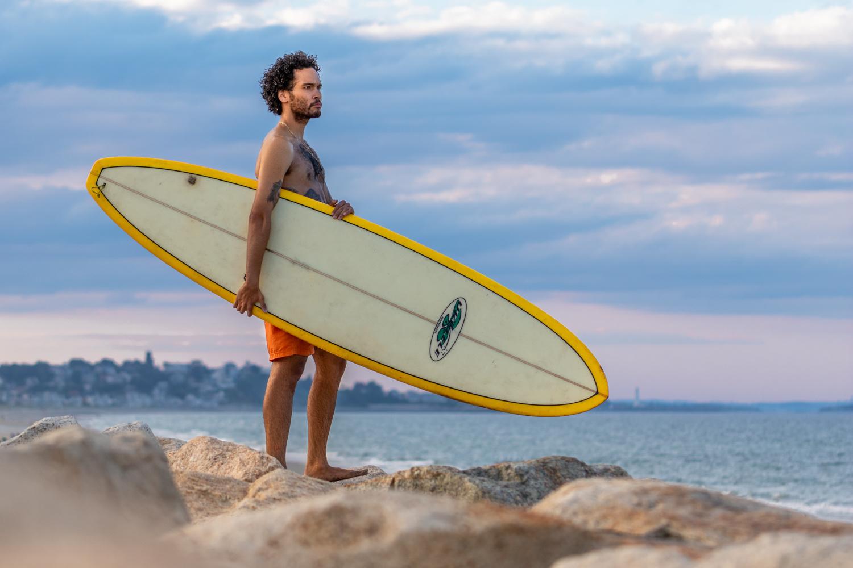 New England Surfer by Michael DeStefano