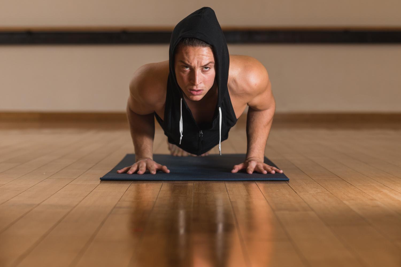 Yoga Instructor by Michael DeStefano