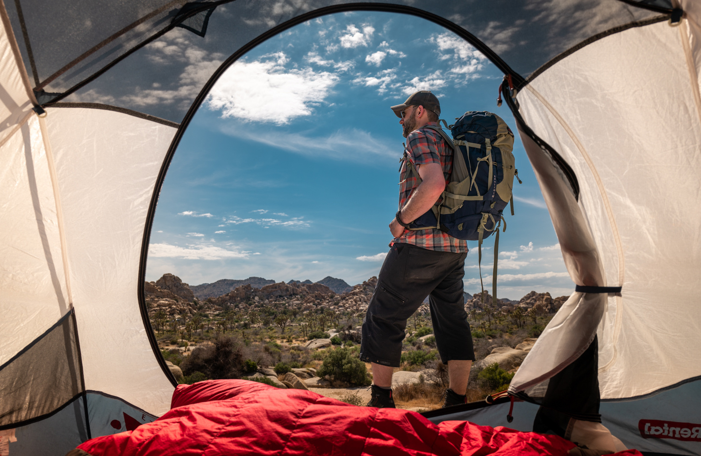 Joshua Tree Camping by Michael DeStefano