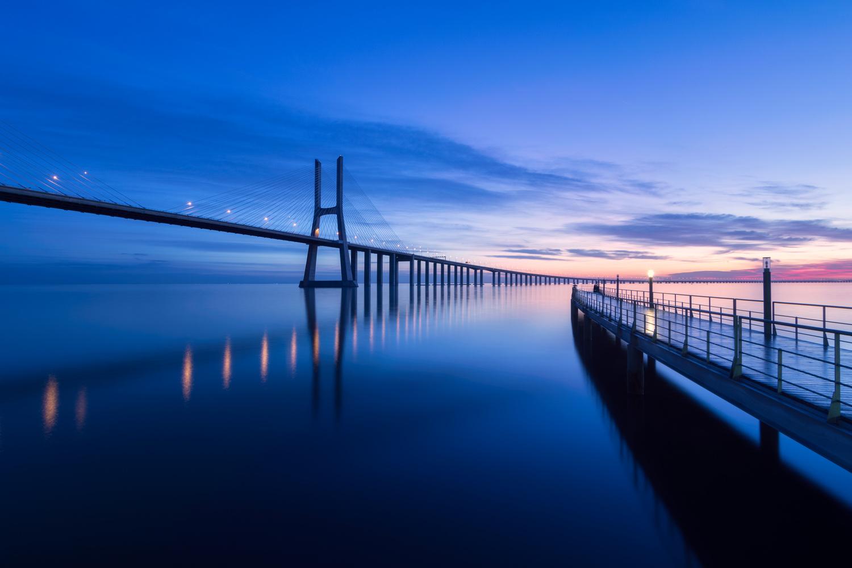 Vasco da Gama Bridge by Pedro Cunha