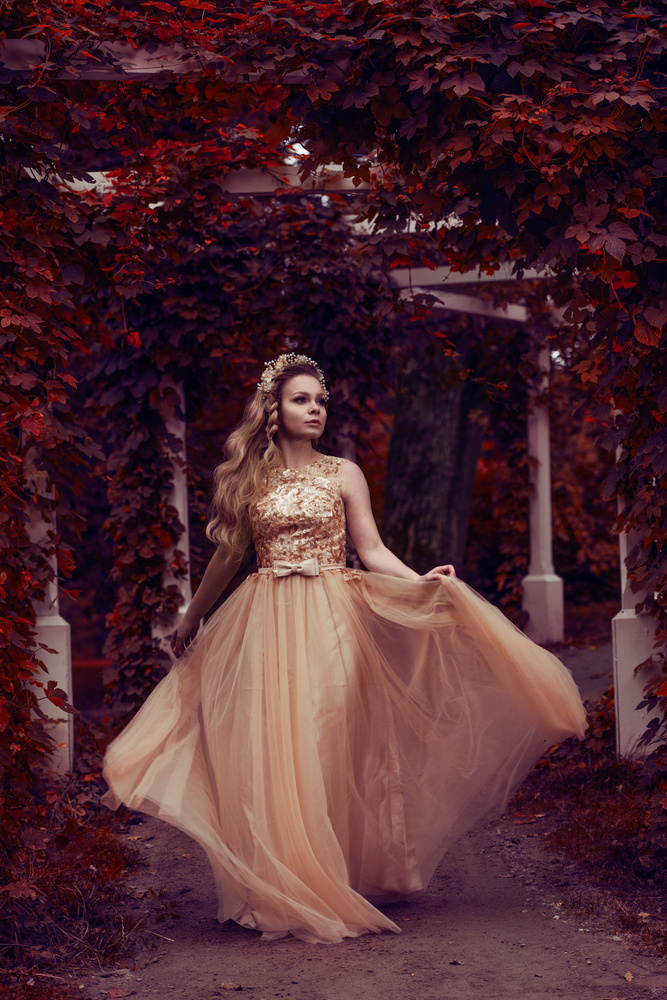 Autumn princess by Anna Pyhäjärvi