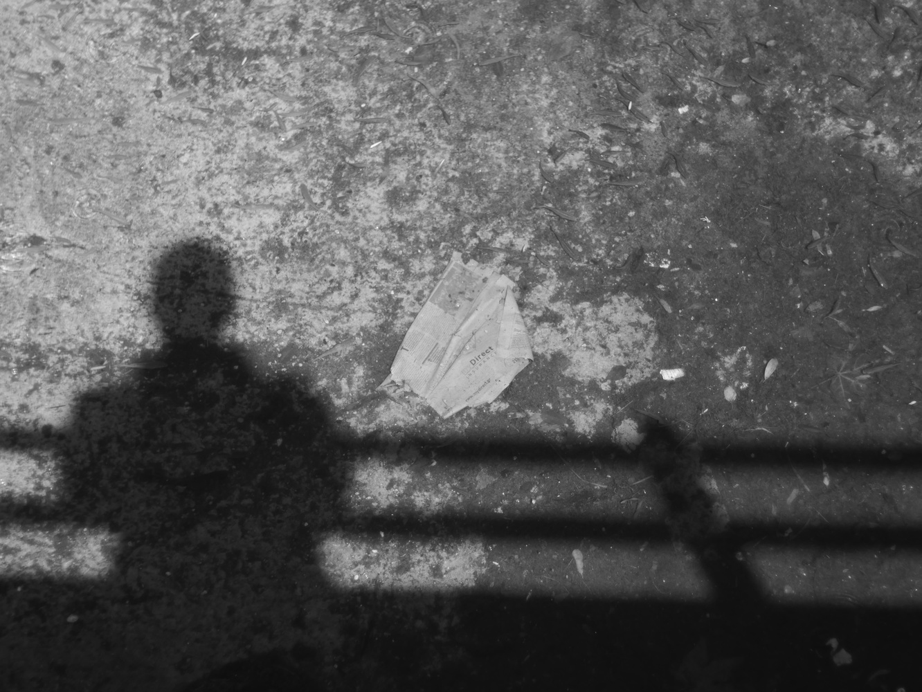 Shadow Selfie by Pascal Photographos