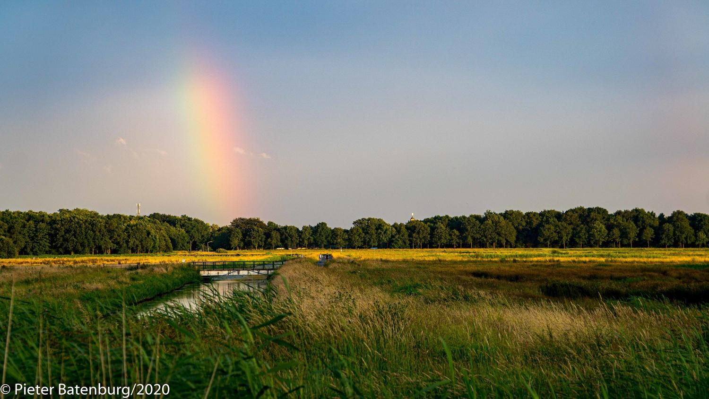 Polder in the Netherlands by Pieter Batenburg