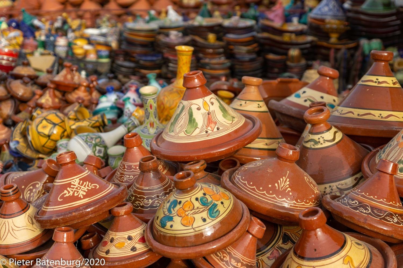 Morocco tajins by Pieter Batenburg