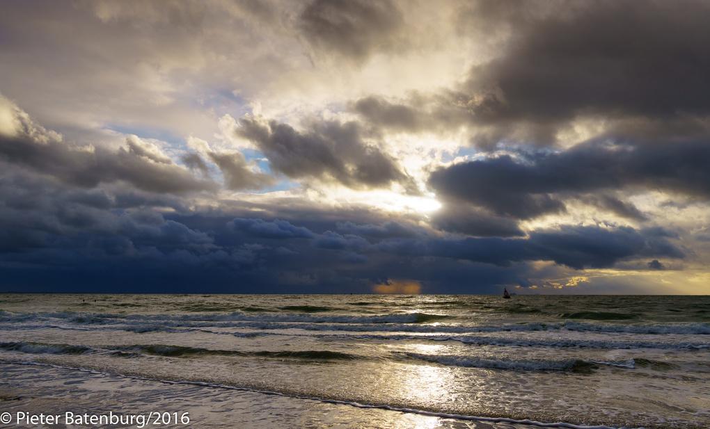 Beach near Vlissingen by Pieter Batenburg