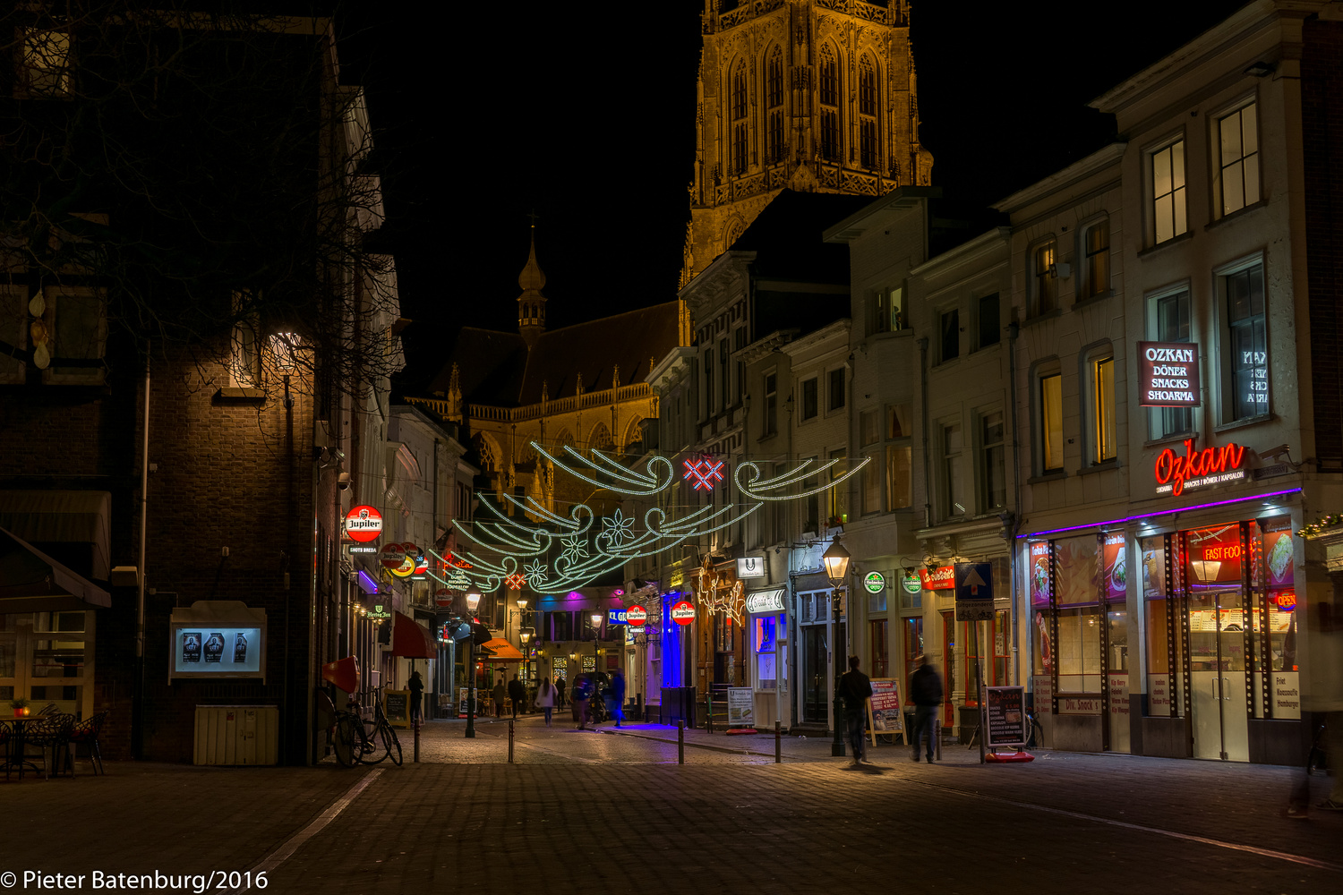 Breda by Night by Pieter Batenburg