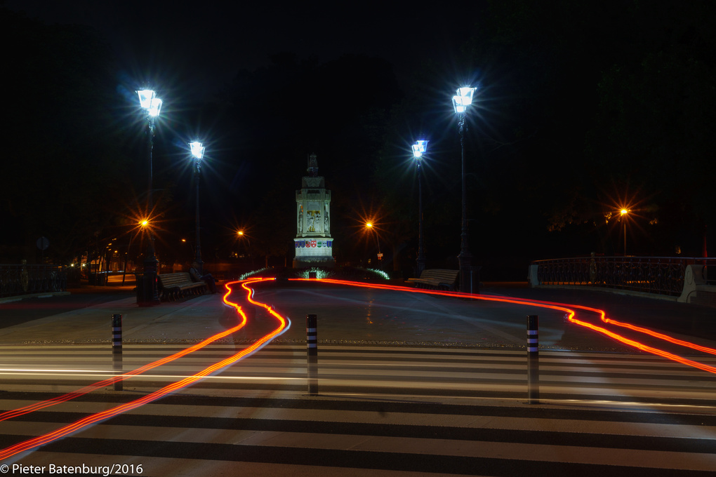Breda by Night by Pieter Batenburg