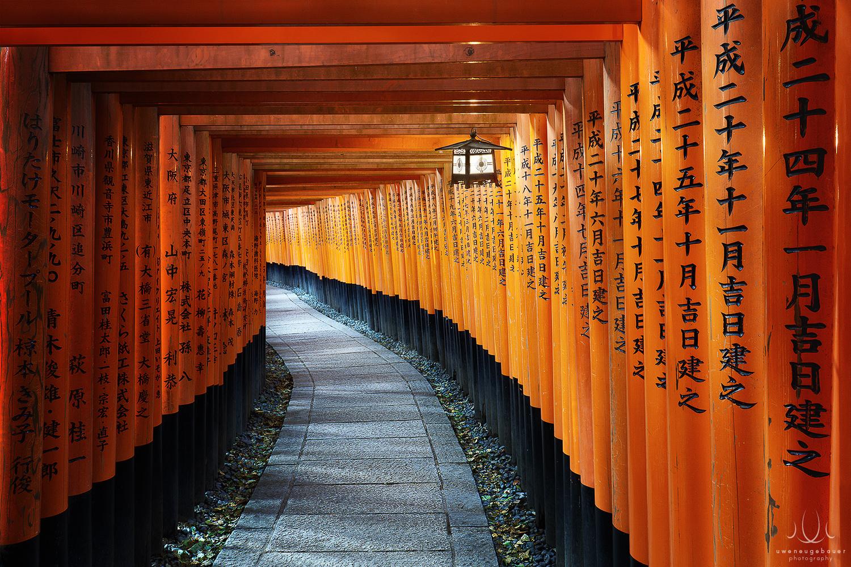 Red Swan [Kyoto, Japan] by Uwe Neugebauer