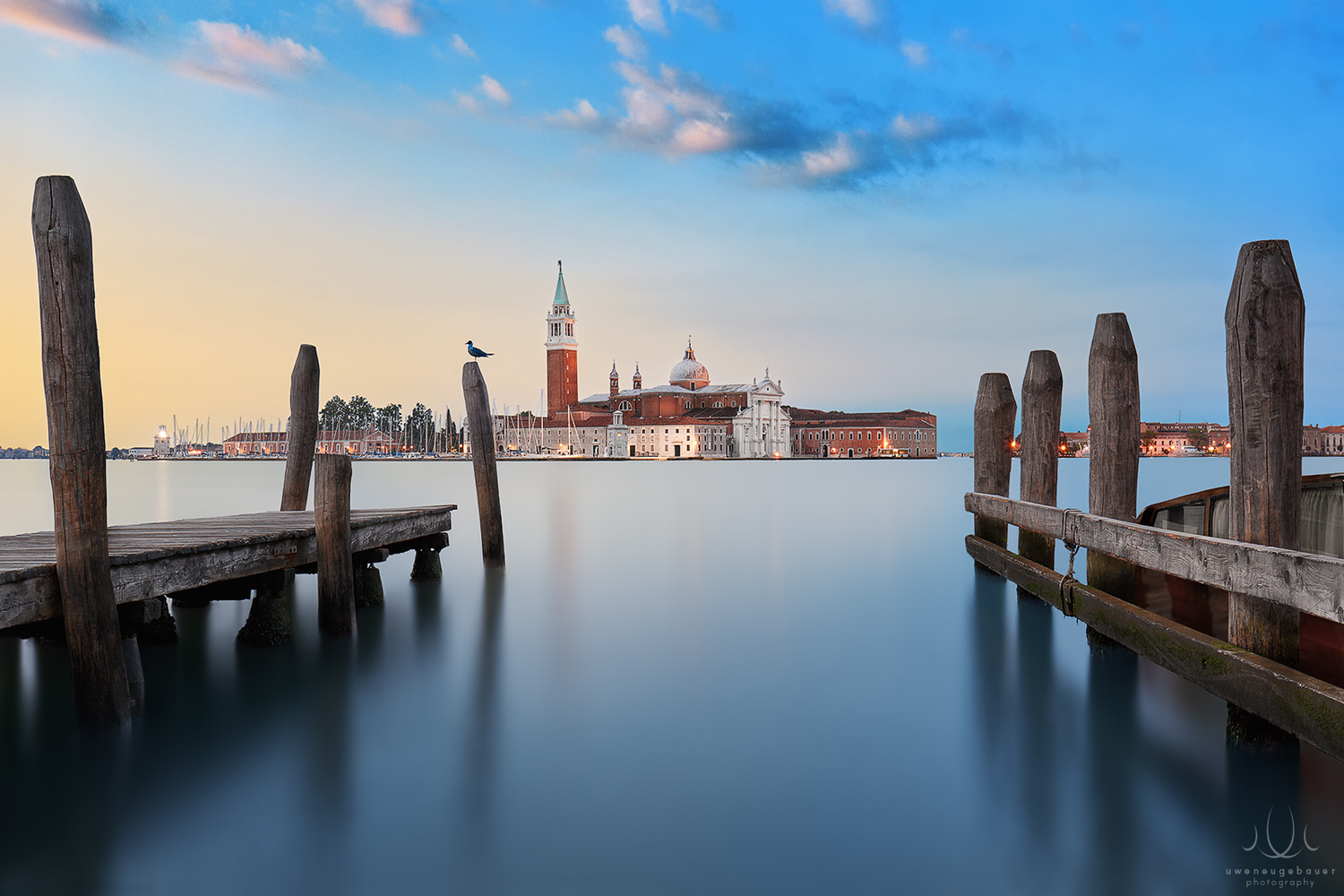 The Only One [Venice, Italy] by Uwe Neugebauer