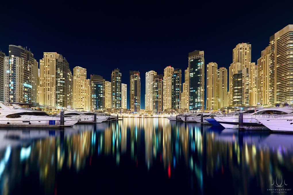 Sparkling Marina [Dubai, UAE] by Uwe Neugebauer