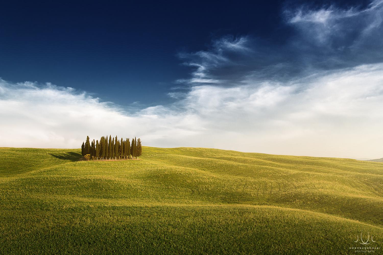 Fourtytwo [Val d'Orcia, Tuscany, Italy] by Uwe Neugebauer