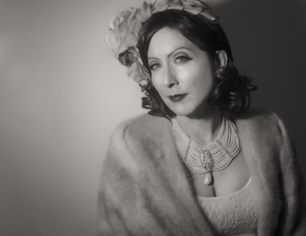 Garbo Tribute by Margo Elfstrom