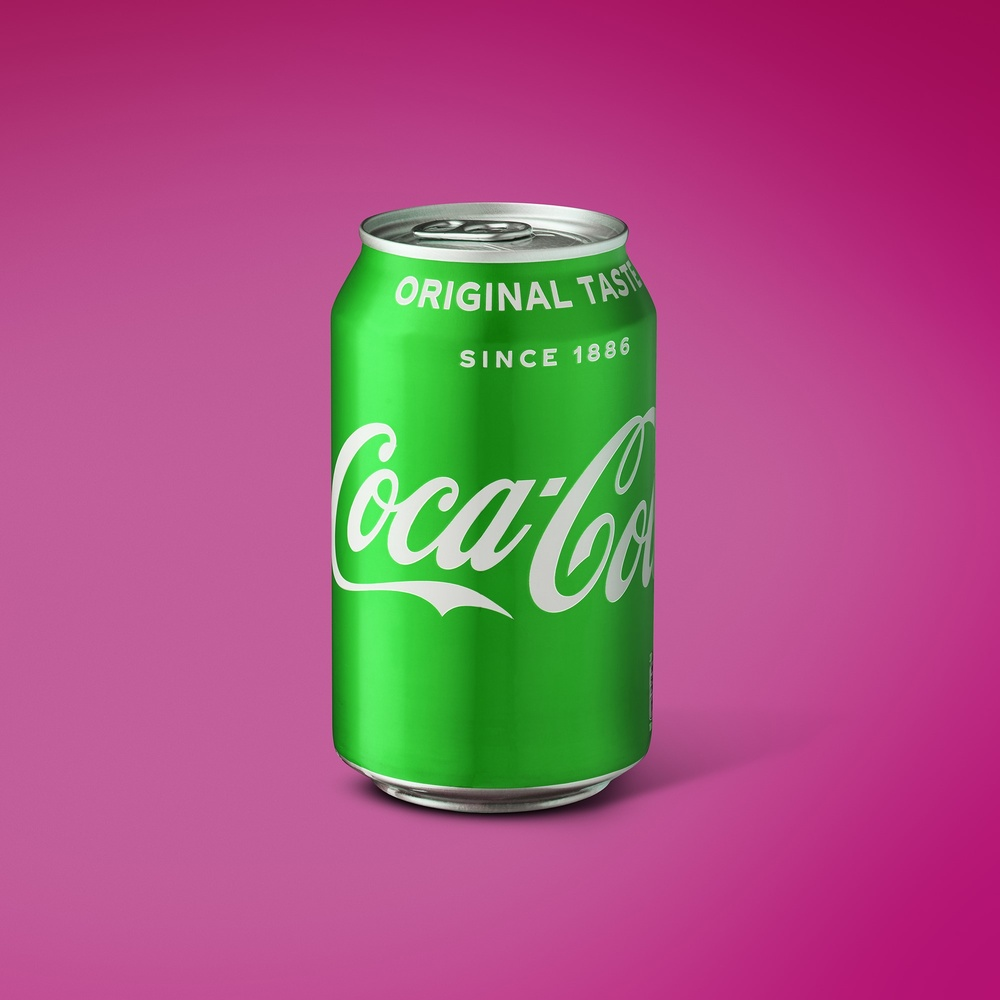 Complimentary Coloured Coca Cola by Ian Knaggs