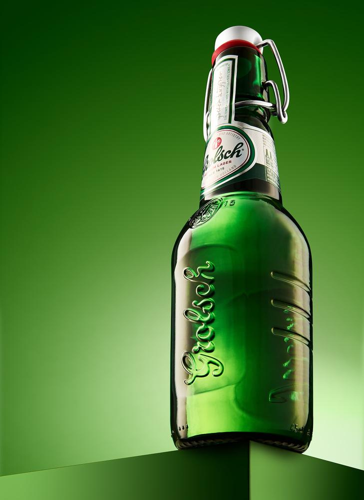 Green Grolsch by Ian Knaggs