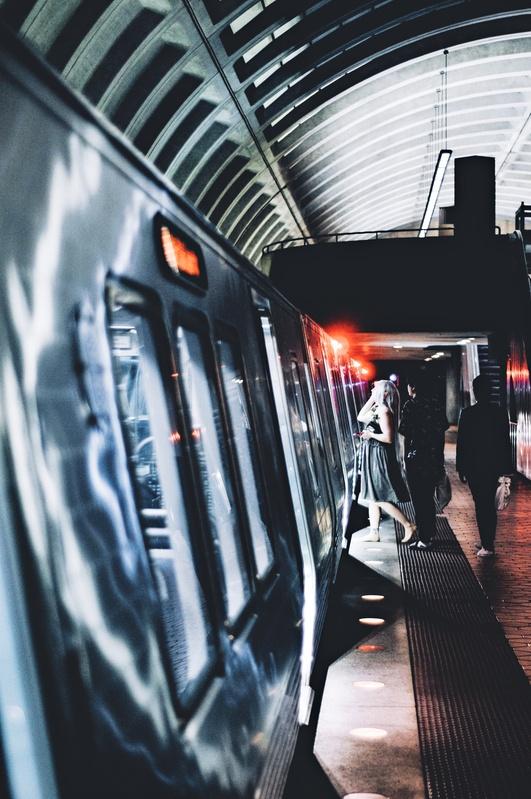 Subway nights  by Patrick Leahy