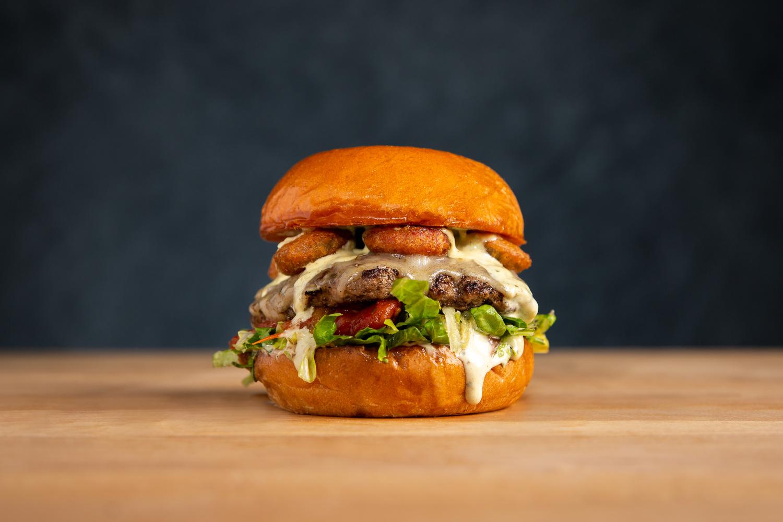 Portrait of a Burger by Jeff Blickenstaff