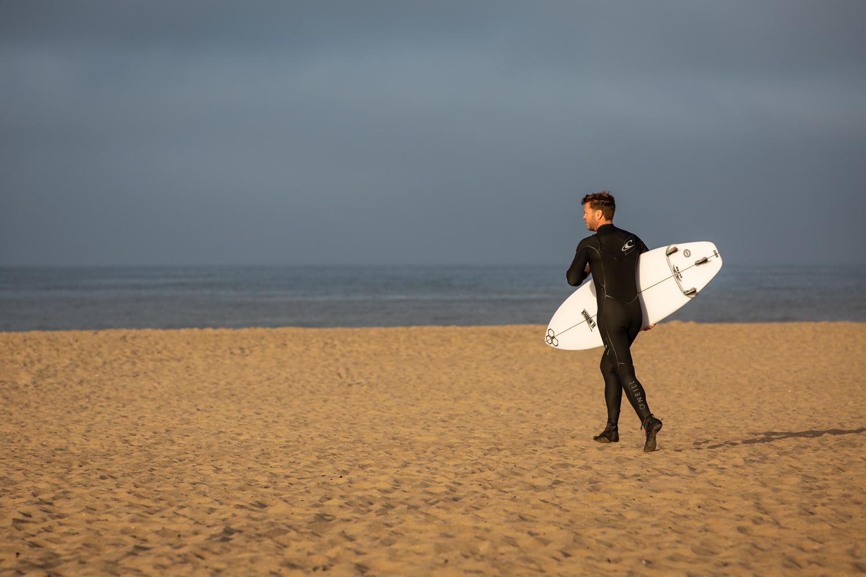 Stranger on a Beach by Jeff Blickenstaff