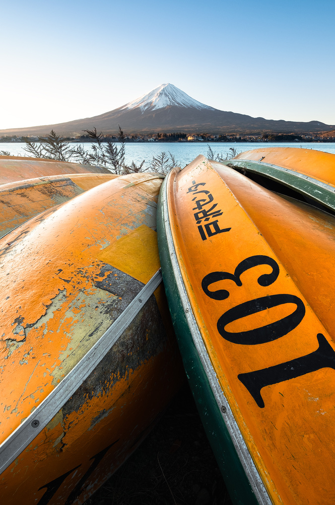 Lead me to Fuji by Mik Og