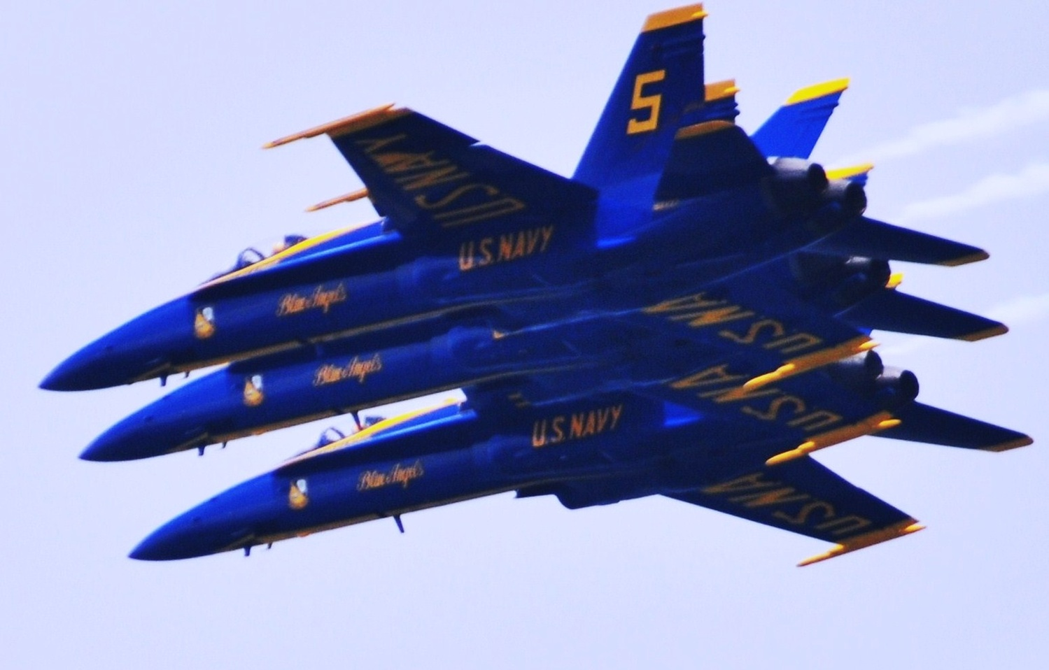 United Sates Navy Blue Angels by Jay Smith
