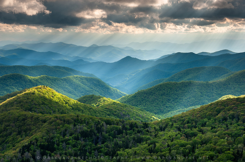 Southern Appalachian Mountains by Mark VanDyke