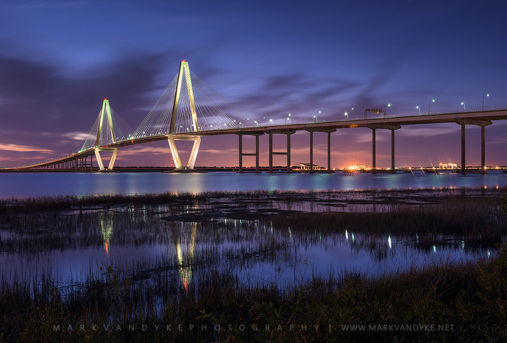 Arthur Ravenel Jr. Bridge Charleston South Carolina by Mark VanDyke