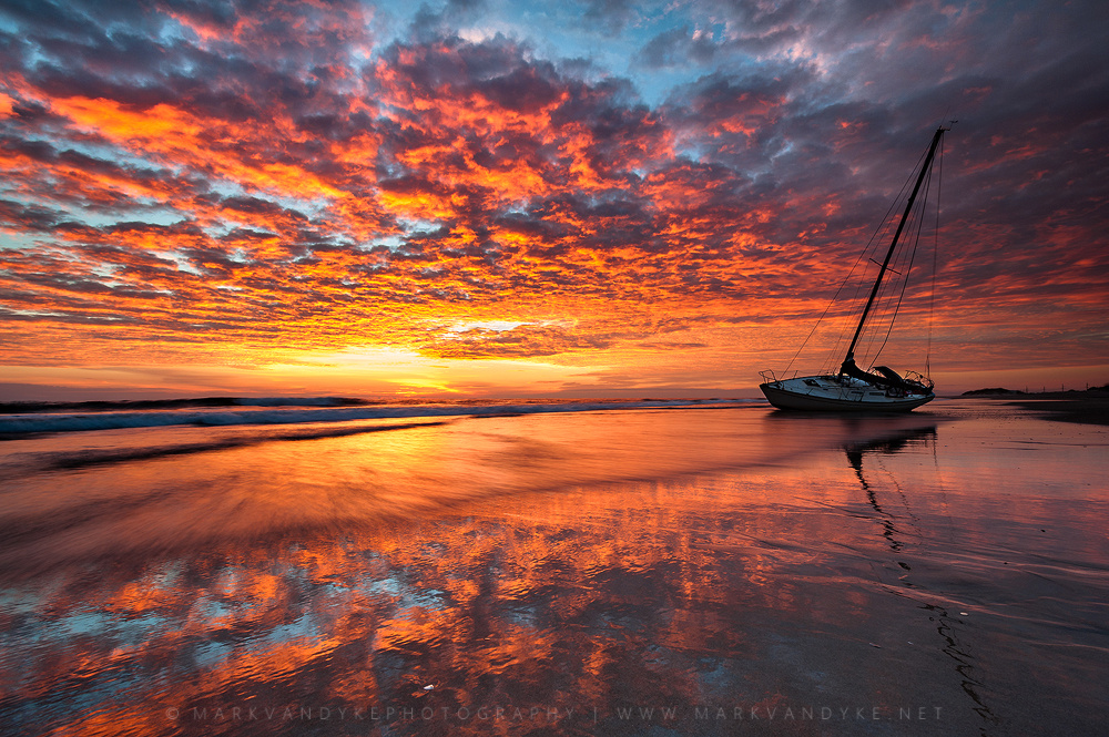 Outer Banks Graveyard of the Atlantic by Mark VanDyke
