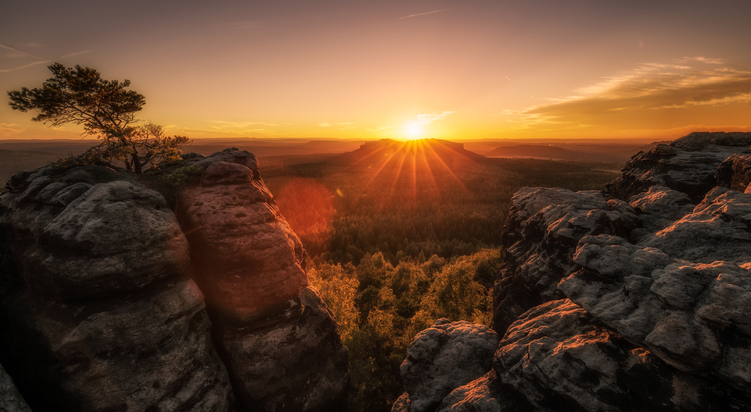 Saxon Switzerland. by Lukas Petereit