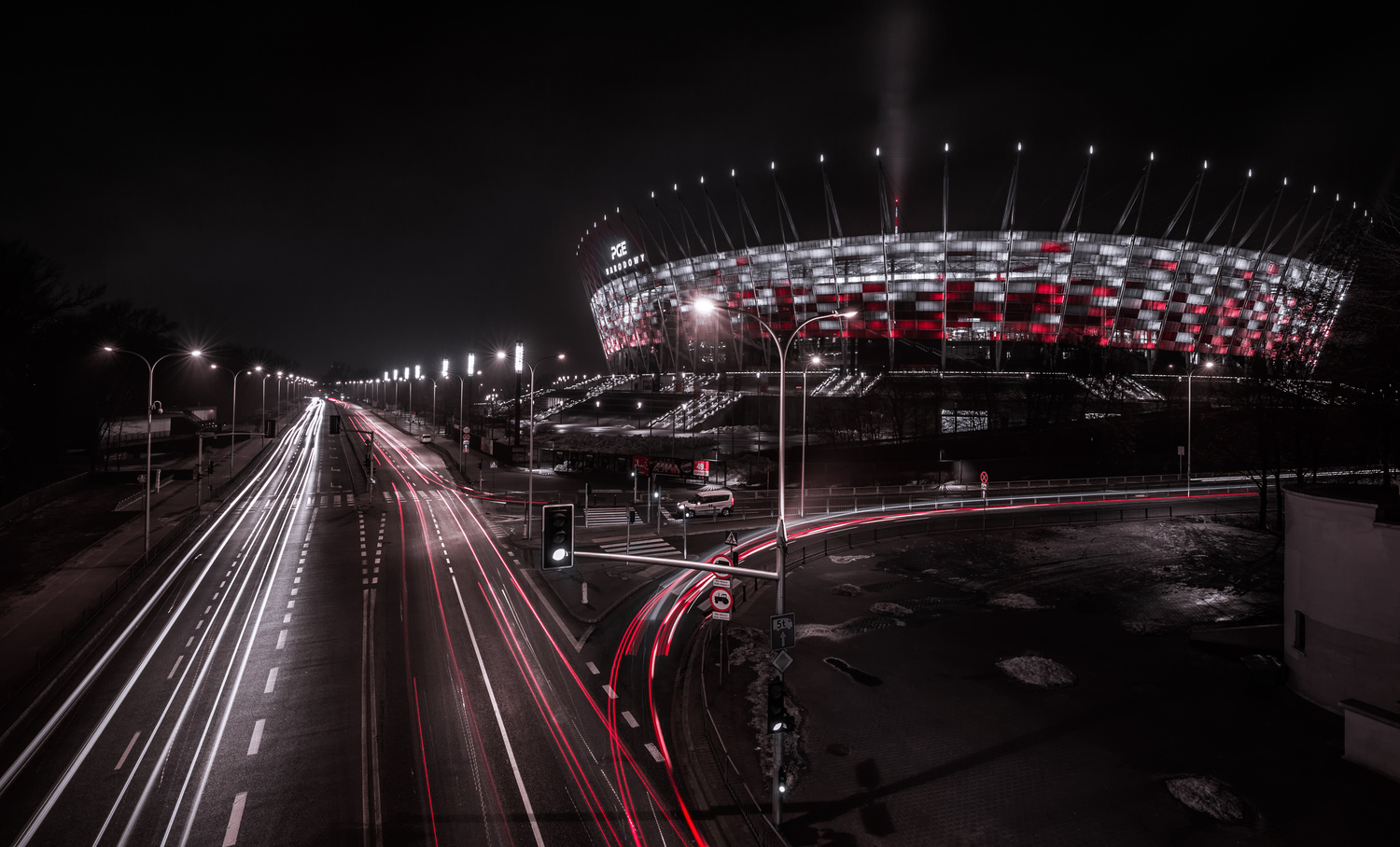 PGE Narodowy - National Stadium by Lukas Petereit