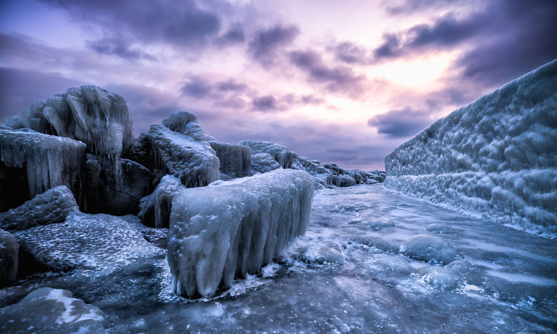 Rügen - Frozen Island. by Lukas Petereit