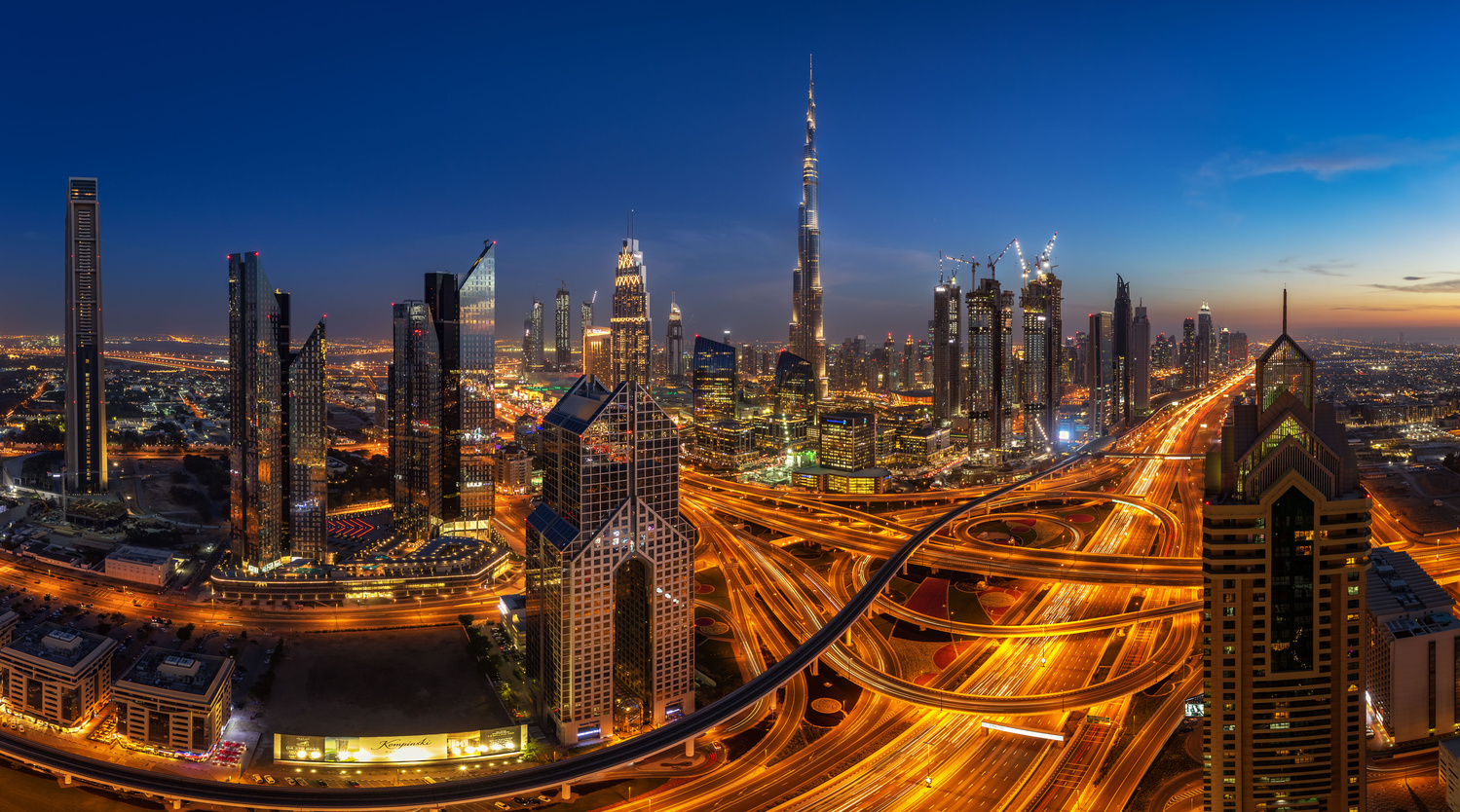 Downtown Dubai. by Lukas Petereit