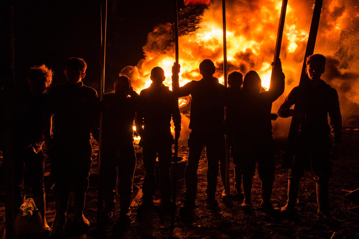 Bonfire Triumph by Ronan McGrade