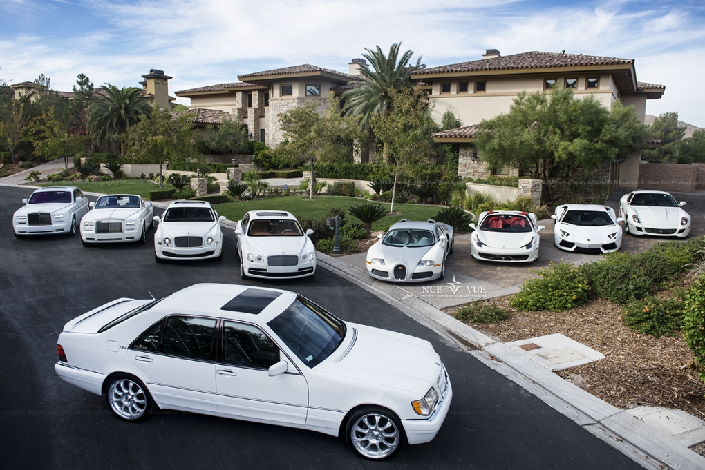 Floyd Mayweather's cars by David Nickerson II