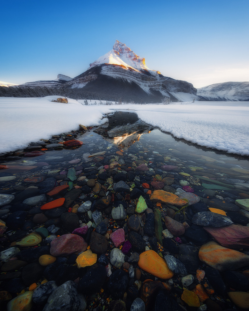 Stones at Tangle Peak by Lucho J Torres