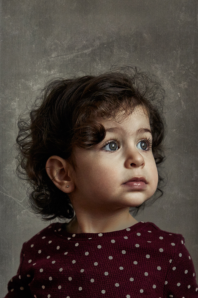 Portrait of a child by Ara H.
