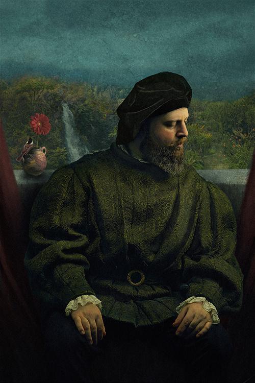 Renaissance Self-Portrait by Ara H.