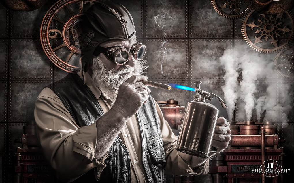 SteamPunk Grandad by Jess Middlebrook
